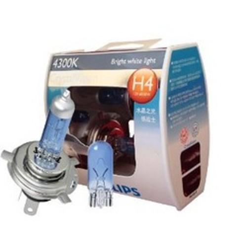 PHILIPS CRYSTAL VISION 4300K - H4 [12342CV] - Lampu Mobil